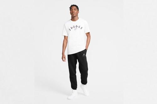 pantalon Nike Jordan Jumpman Air Fleece negro