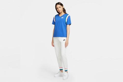 Pantalón Nike Sportswear Heritage Fleece Grises