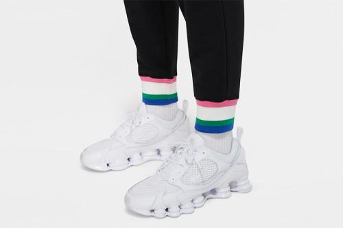 Pantalón Nike Sportswear Heritage Women Fleece negro