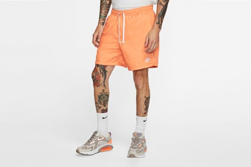 Pantalón Nike Sportswear Men's Woven Shorts naranja