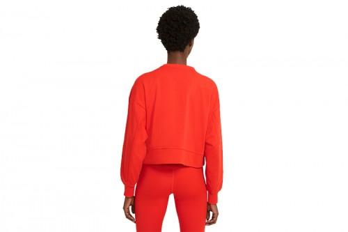 Sudadera Nike Dri-FIT Get Fit Women's Swoosh roja