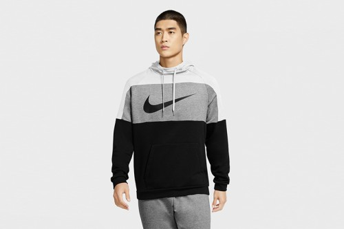 Sudadera Nike Dri-FIT Men Pullover Training gris