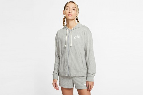 Sudadera Nike Sportswear Gym Vintage Women's gris