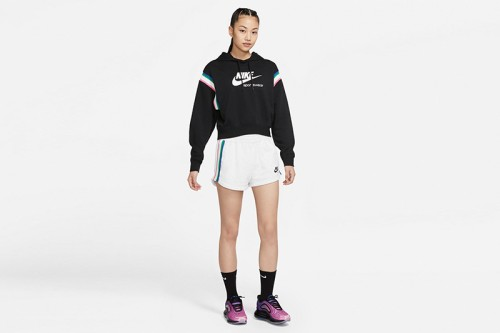 Sudadera Nike Sportswear Heritage Women Pullover negra