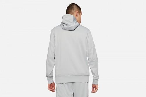 Sudadera Nike Sportswear Men's Full-Zip Hood gris