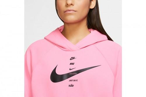 Sudadera Nike Sportswear Swoosh Women's Brus rosa