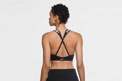 Sujetador deportivo Nike Indy Icon Clash Women's Light negro