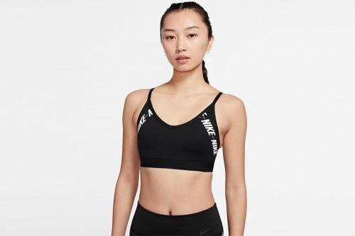 Sujetador deportivo Nike Indy Sport negro