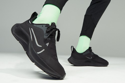 Zapatillas Nike Air Zoom Pegasus 37 Shield Women Negras