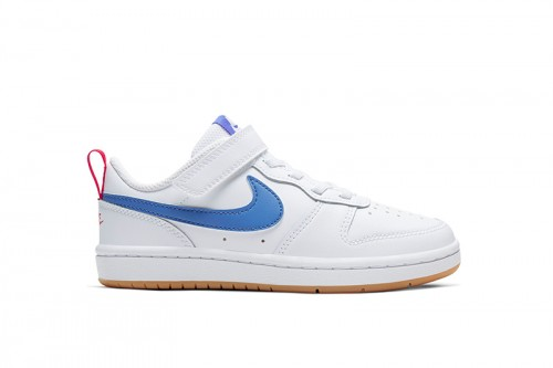 Zapatillas Nike Court Borough Low 2 Little Kid Blancas