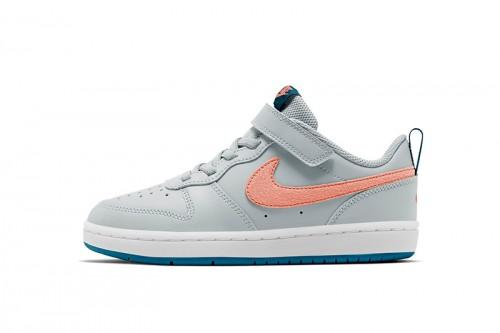 Zapatillas Nike Court Borough Low 2 Little Kid Grises