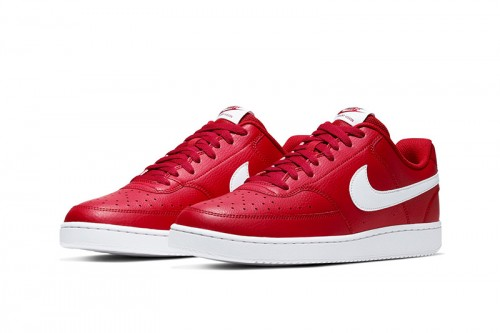 Zapatillas Nike Court Vision Low Sport Rojas