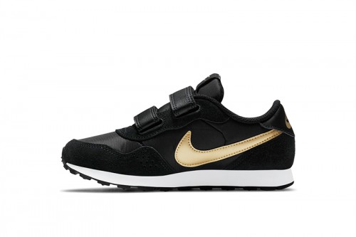 Zapatillas Nike MD Valiant Little Kids Negras