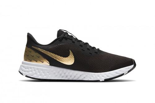 Zapatillas Nike Revolution 5 Premium Women's R Negras
