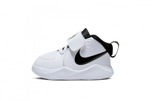 Zapatillas Nike Team Hustle D 9 Baby/Toddler S Blancas