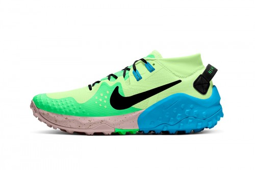 Zapatillas Nike Wildhorse 6 Men's Trail Running Verdes