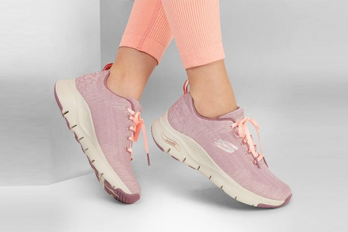 Zapatillas Skechers ARCH FIT - COMFY WAVE Moradas