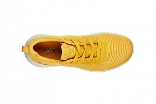 Zapatillas Skechers BOBS SQUAD - TOUGH TALK Amarillas