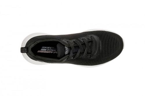 Zapatillas Skechers BOBS SQUAD - TOUGH TALK Negras