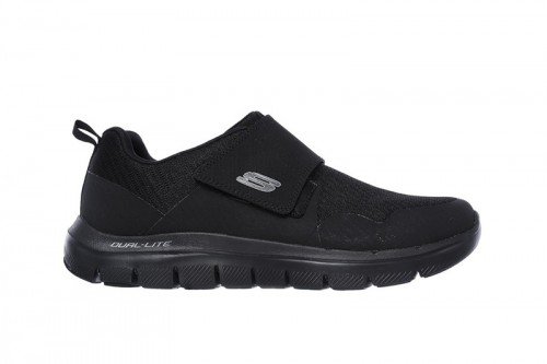 Zapatillas Skechers FLEX ADVANTAGE 2.0- GURN Negras