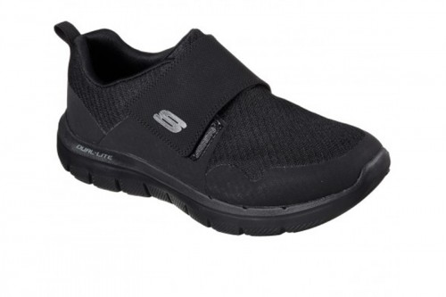 Zapatillas Skechers FLEX ADVANTAGE 2.0- GURN Negras