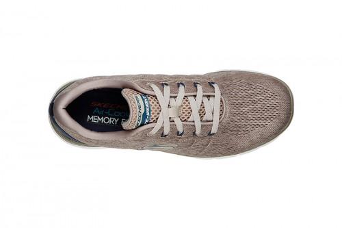Zapatillas Skechers FLEX ADVANTAGE 3.0- STALLY Marrones