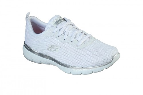 Zapatillas Skechers FLEX APPEAL 3.0-FIRST INSIGHT Blancas