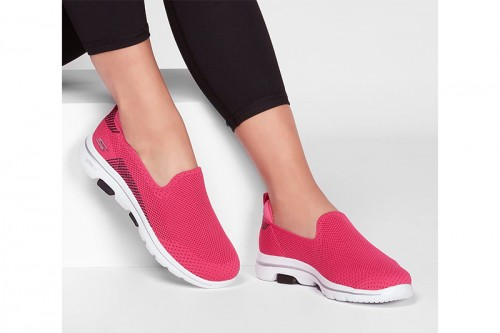 Zapatillas Skechers GO WALK 5 - PRIZED Rosas