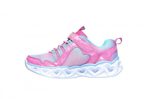 Zapatillas Skechers HEART LIGHTS - RAINBOW LUX Rosas