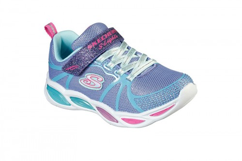 Zapatillas Skechers SHIMMER BEAMS-SPORTY GLOW Moradas