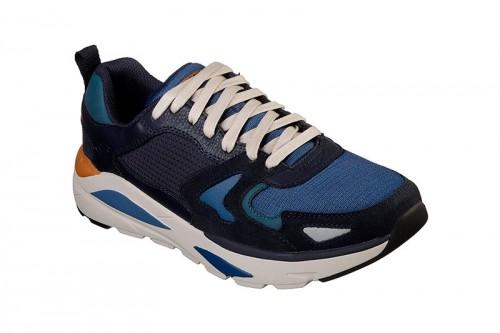 Zapatillas Skechers VERRADO- BROGEN Azules