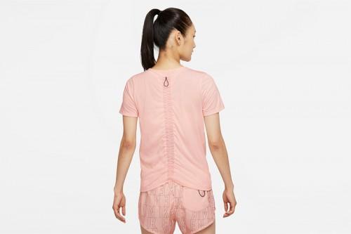 Camiseta Nike Dri-FIT Run Division Rosa