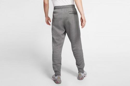 Pantalón Nike Sportswear Club Fleece Gris
