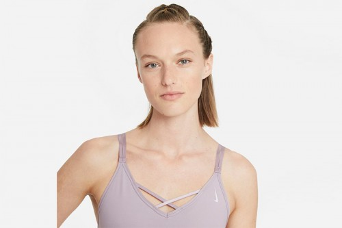 Sujetador deportivo Nike Yoga Dri-FIT Indy Rosa