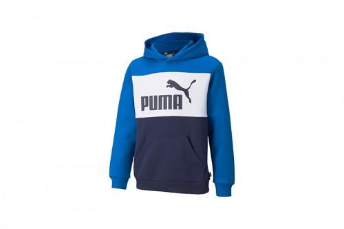 Sudadera Puma Colorblock Azul