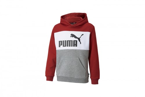 Sudadera Puma Colorblock Blanca