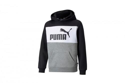Sudadera Puma Colorblock Gris