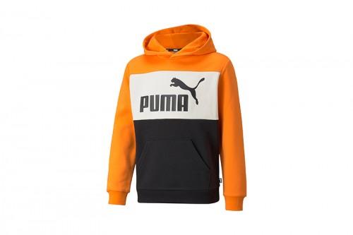 Sudadera Puma Colorblock Naranja