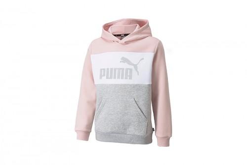 Sudadera Puma Colorblock Rosa