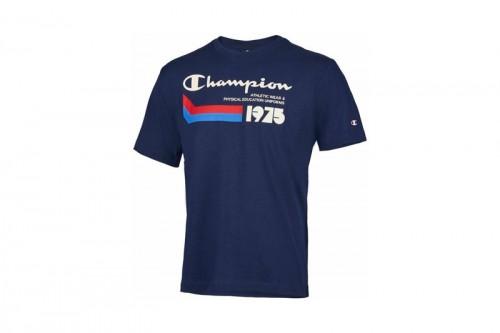Camiseta Champion Crewneck Azul Marino
