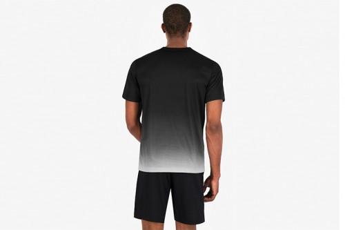 Camiseta Champion MULTI SCRIPT LOGO QUICK DRY TRAINING negra