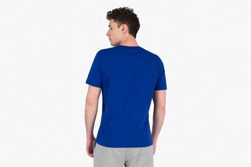 Camiseta Champion SCRIPT LOGO CREW NECK azul
