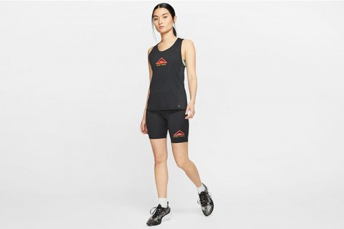 Camiseta Nike City Sleek Women's Trail Running Negras