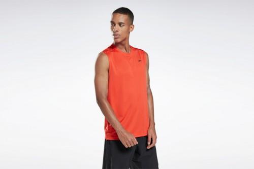 Camiseta Reebok Workout Ready Tech Roja