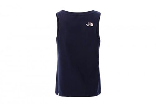Camiseta The North Face G SIMPLE DOME TANK azul