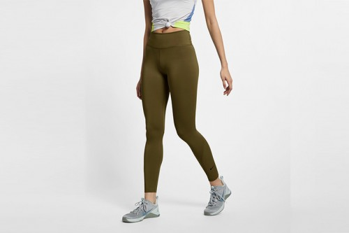 Mallas Nike One Women Mid-Rise 7/8 Tight Verdes