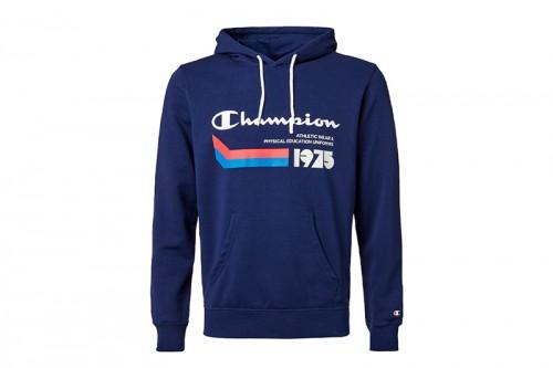 Sudadera Champion Hooded Sweatshirt azul