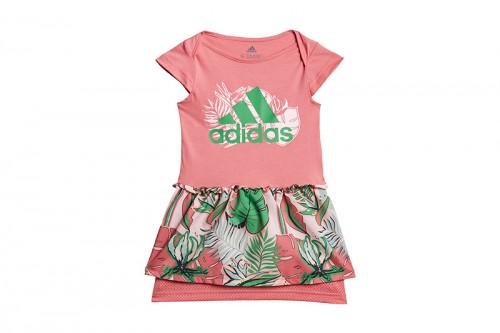 Vestido adidas FLOWER PRINT SUMMER Rosa