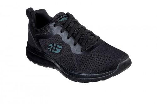 Zapatillas Skechers BOUNTIFUL-QUICK PATH Negras