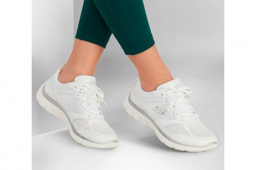 Zapatillas Skechers FLEX APPEAL 4.0 - ACTIVE FLOW Blancas
